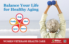 Thumbnail of Healthy Awareness Poster: Healthy Aging