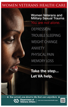 Thumbnail of Sexual Trauma PTSD Poster