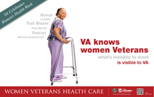 Thumbnail of VA Knows Women Veterans (Poster II).