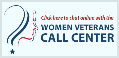 Chat Button for the Women Veterans Call Center