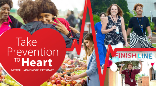 Take Prevention to Heart - Live well, move more, eat smart