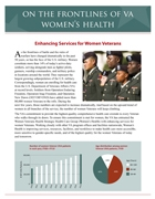 Thumbnail cover of Women Veterans Health Care Progress Report
