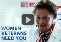 Women Veterans Need You