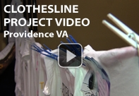 Click here to watch the Clothesline Project Video