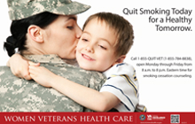Thumbnail of Great American Smokeout poster: Quit Smoking Today for a Healthy Tomorrow