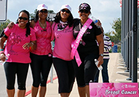 photo of breast cancer walk