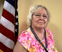 photo of VA Volunteer and Member of the American Legion Auxiliary, Virginia Robbins