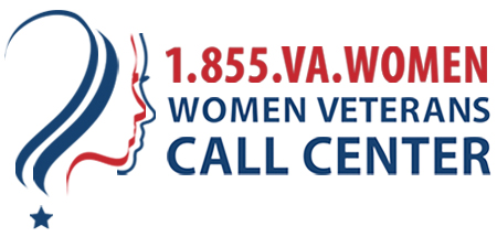 Image of Women Veterans Call Center Logo
