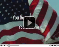You Served, You Deserve Video